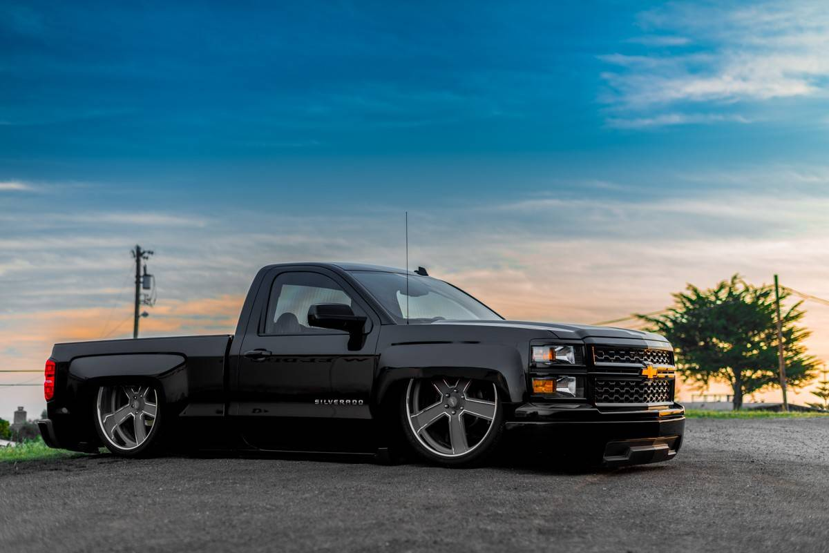 Accuair Air Suspension Equipped Chevrolet Silverado