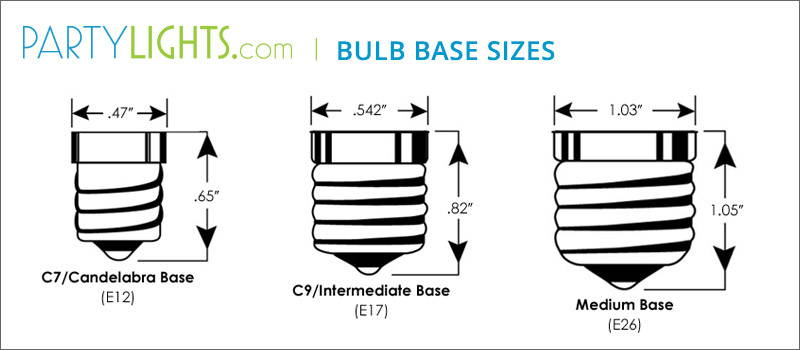 Light Bulb Socket Guide Info On