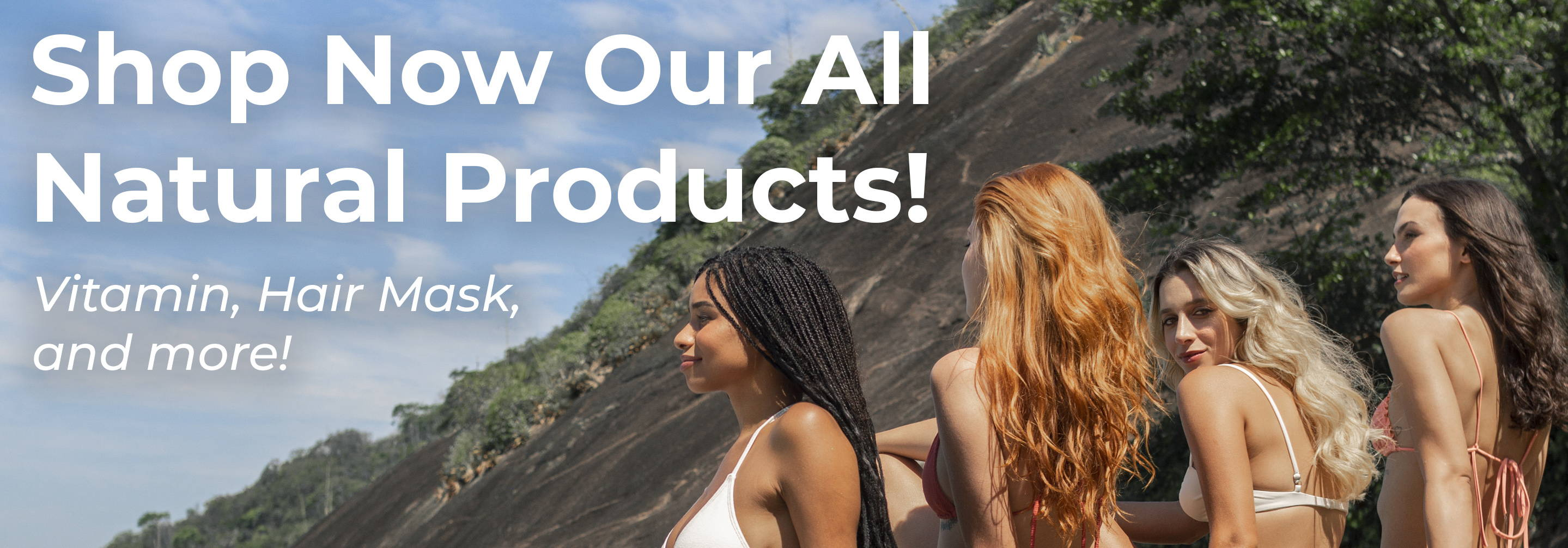 Shop our all natural products. Hair mask, hair vitamins and more!