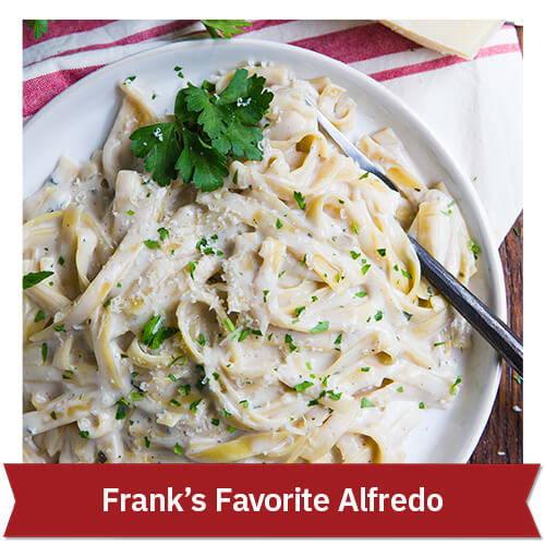 Frank's Favorite Alfredo