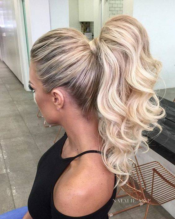 37 Beautiful Half Up Half Down Hairstyles Half Up Pony 4: Best Blow Dry Hairstyles