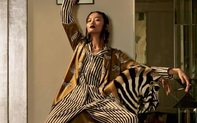 dfe719d46e ... Olivia von Halle began working on her elegant nightwear range in 2011.  Launching at London Fashion Week the same year