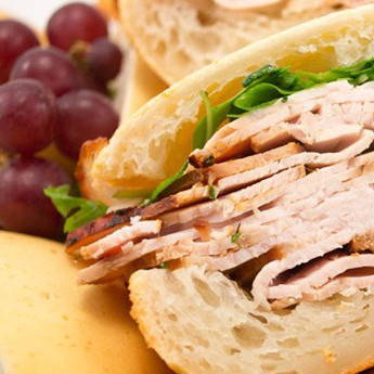 Bagelinos Lemon Turkey Sandwich