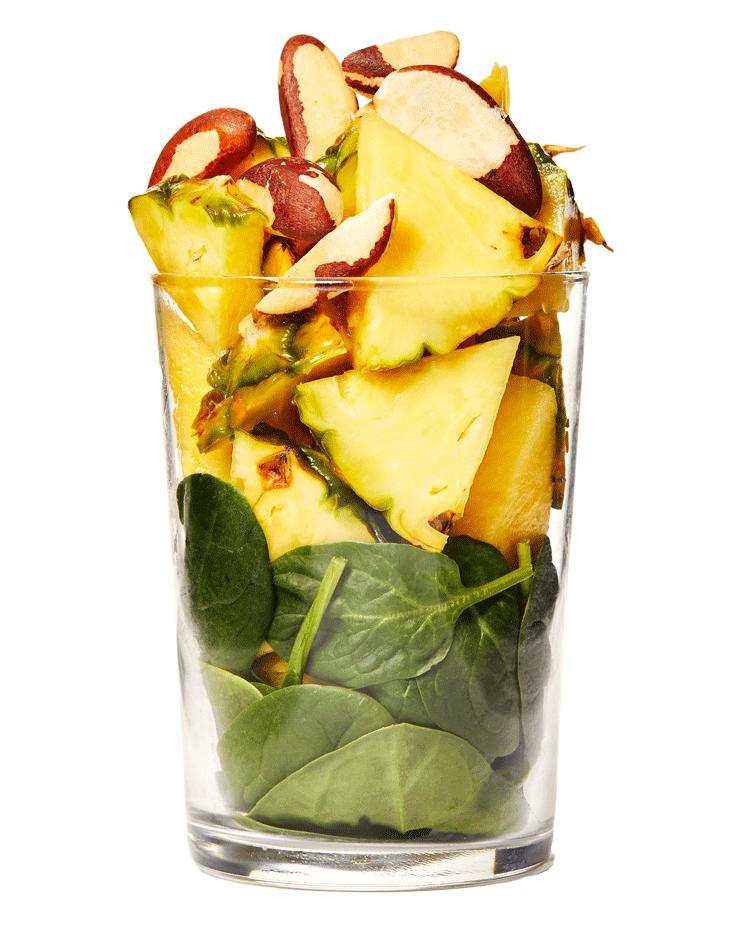 Tropical Pineapple Keto Smoothie
