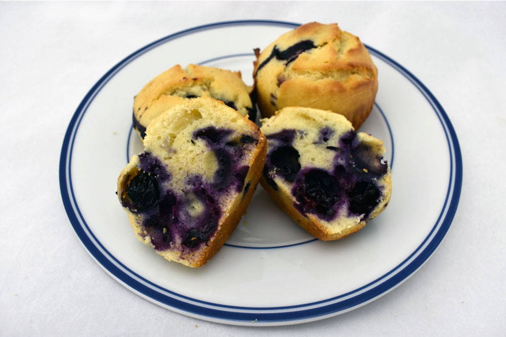 Recipe for Bosquet Gluten-Free Muffins