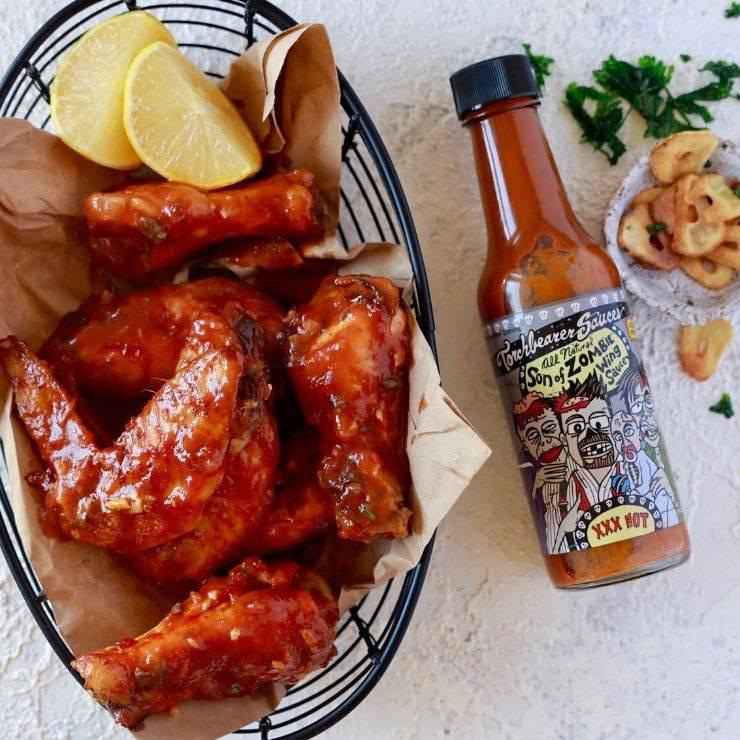 Hot Sauce Chicken Wings