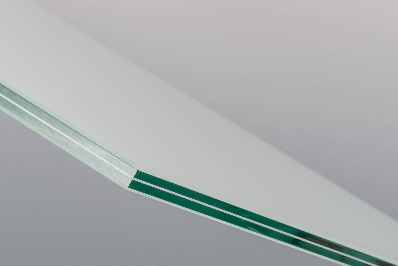 VSG Glas matt mit polierter Kante