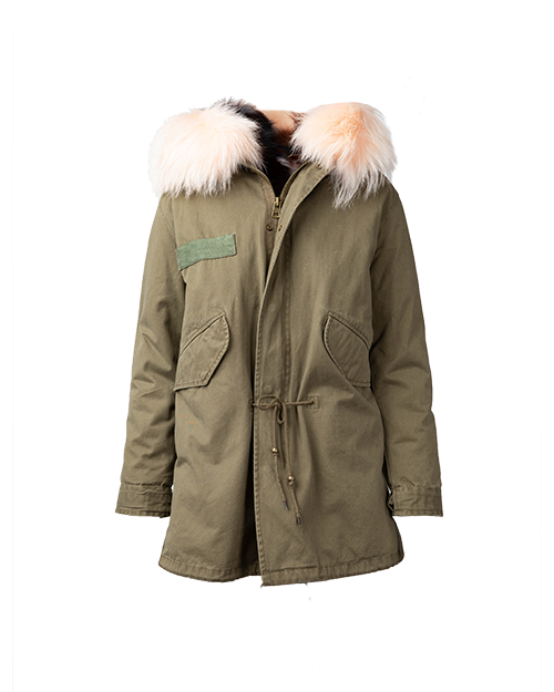Green Parka  | Holiday Gift Guide | J.ING