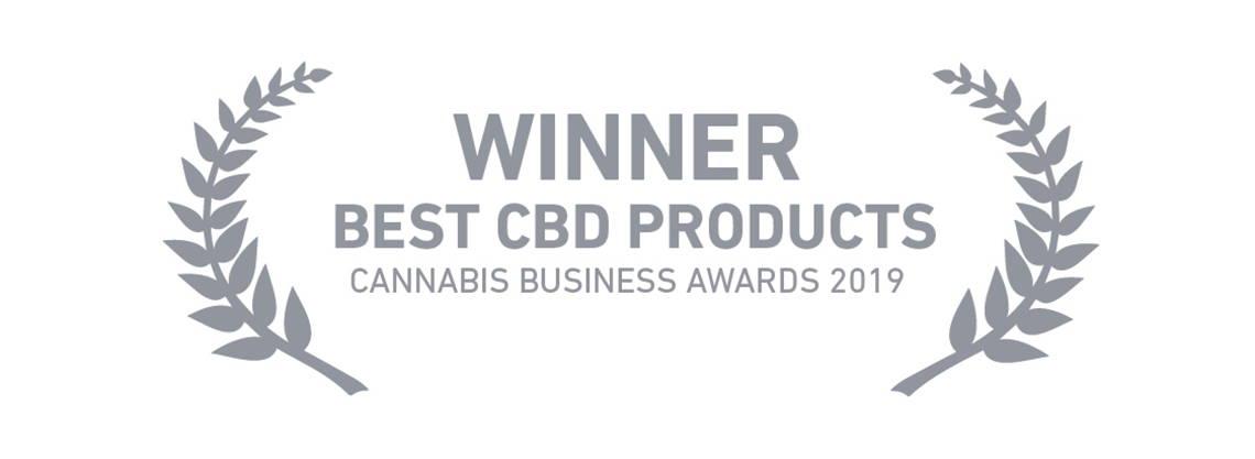 Best CBD Product 2019 award