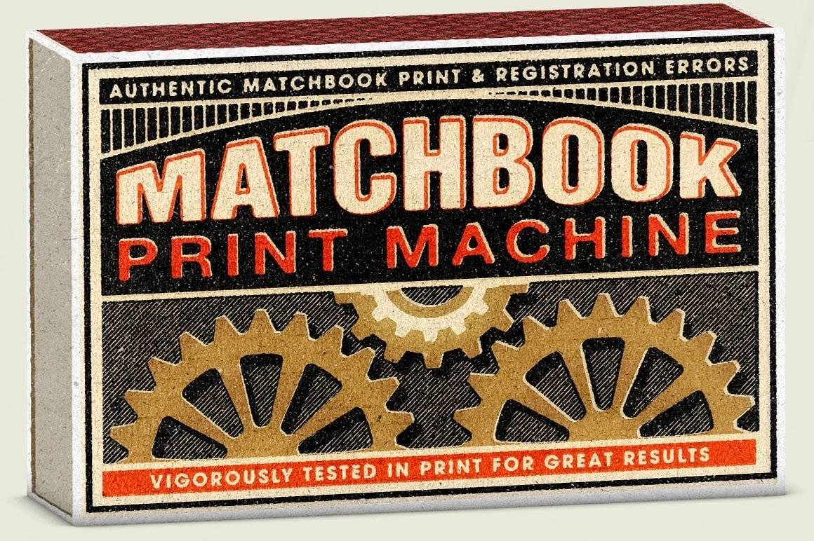 Matchbook Print Machine - Print and Registration Errors for Photoshop