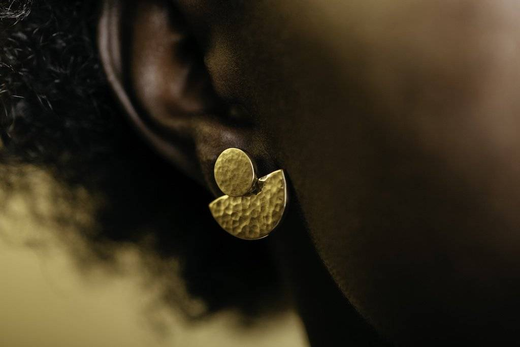 Yala Jewellery, a black owned brand, at Sancho's shop in Exeter, UK.
