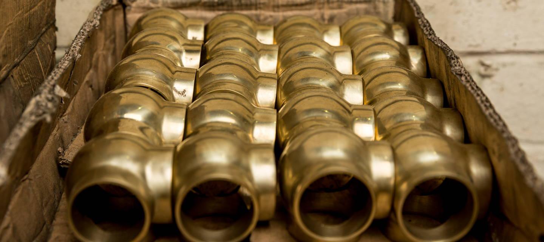 Rutland Radiators Brass Ball Joints Heated Towel Rail