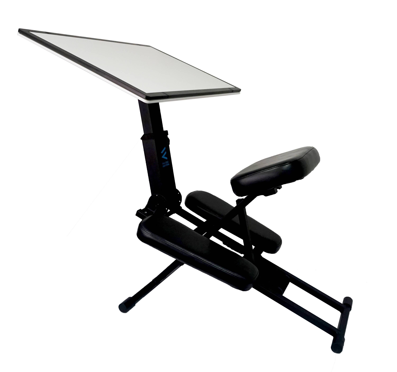 black edge desk