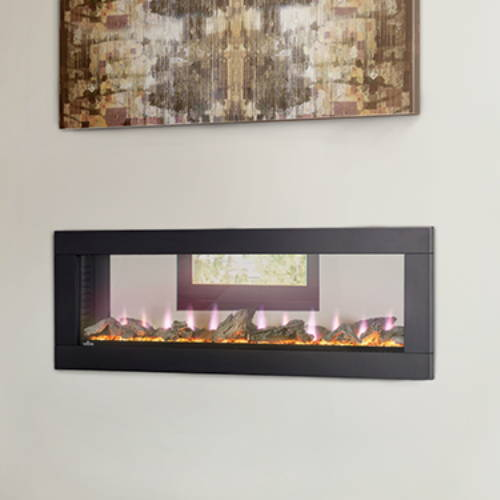 Napoleon Clearion See Through electric fireplace