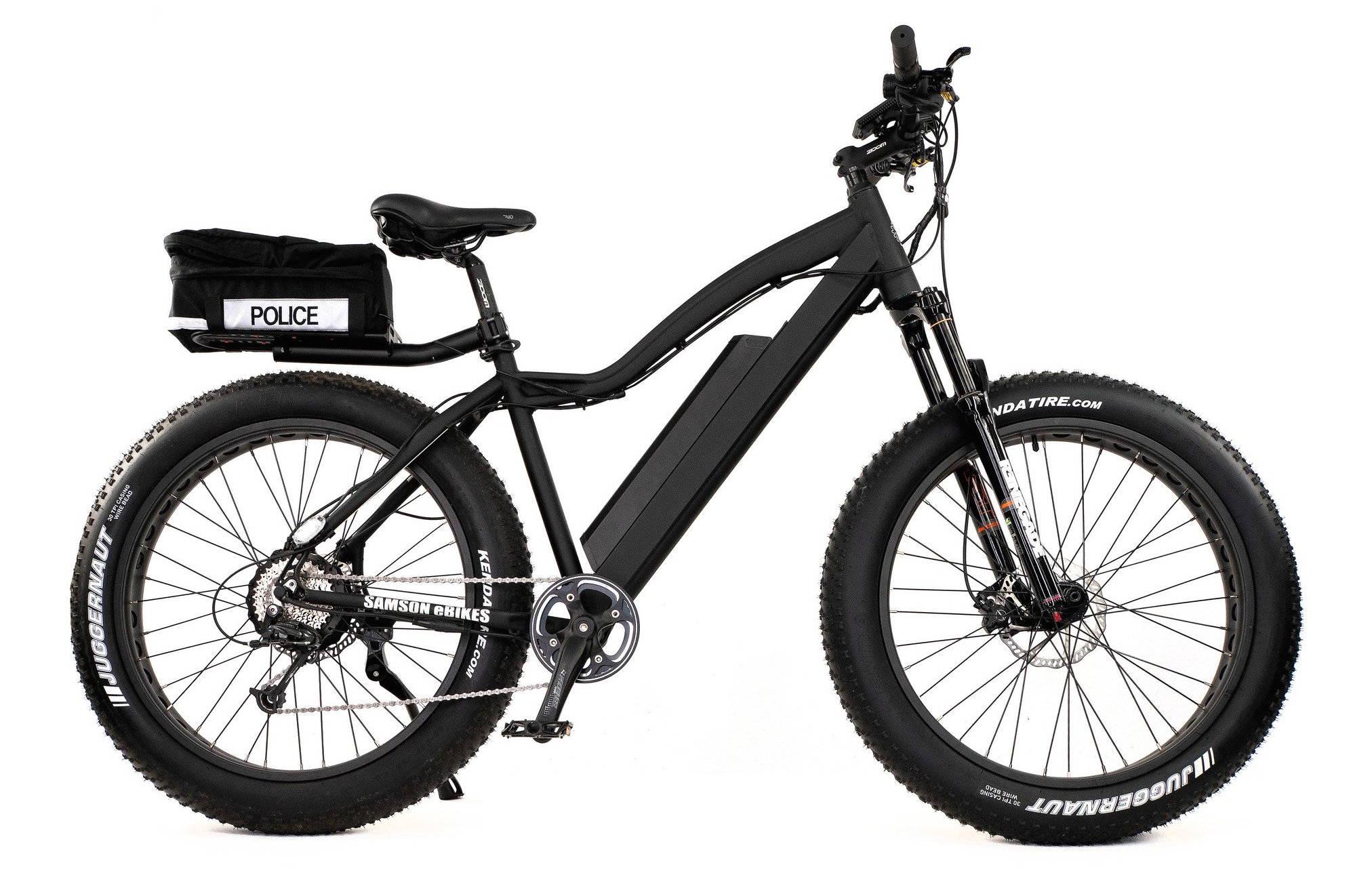 Police E-Bikes