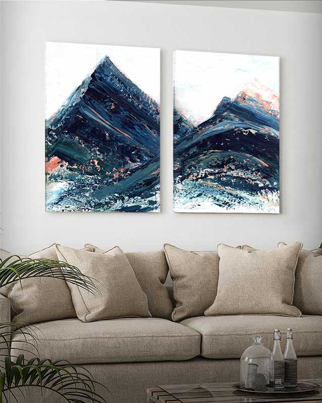 Copper Hills 2 Piece Print