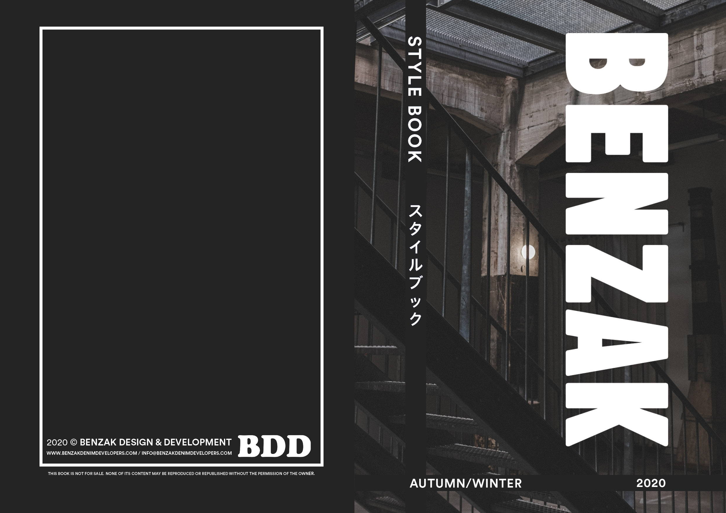 benzak denim developers AW20 stylebook | autumn winter 2020 | fall winter 2020 | collection lookbook