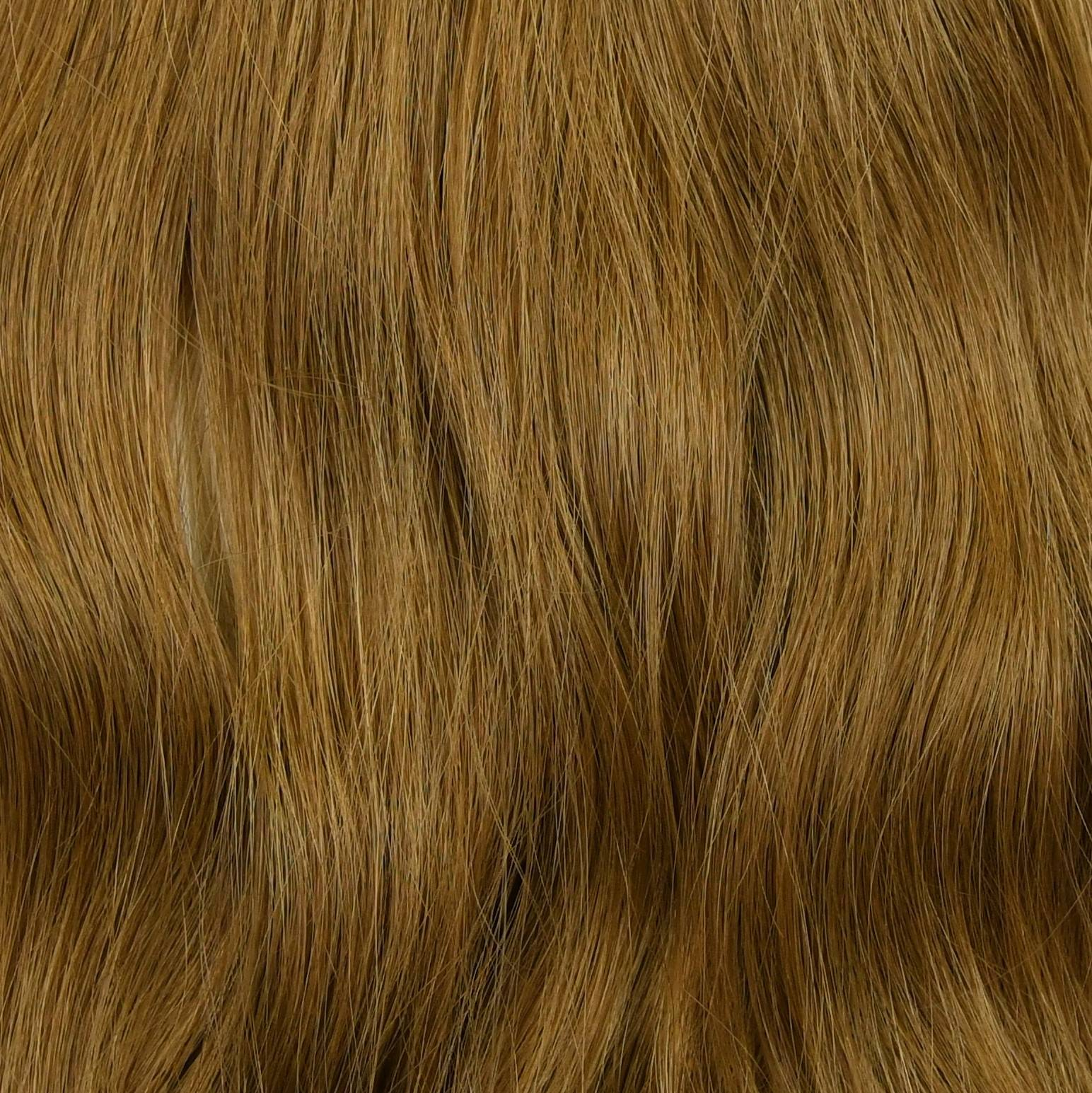 golden color hair extensions sample in hair color chart
