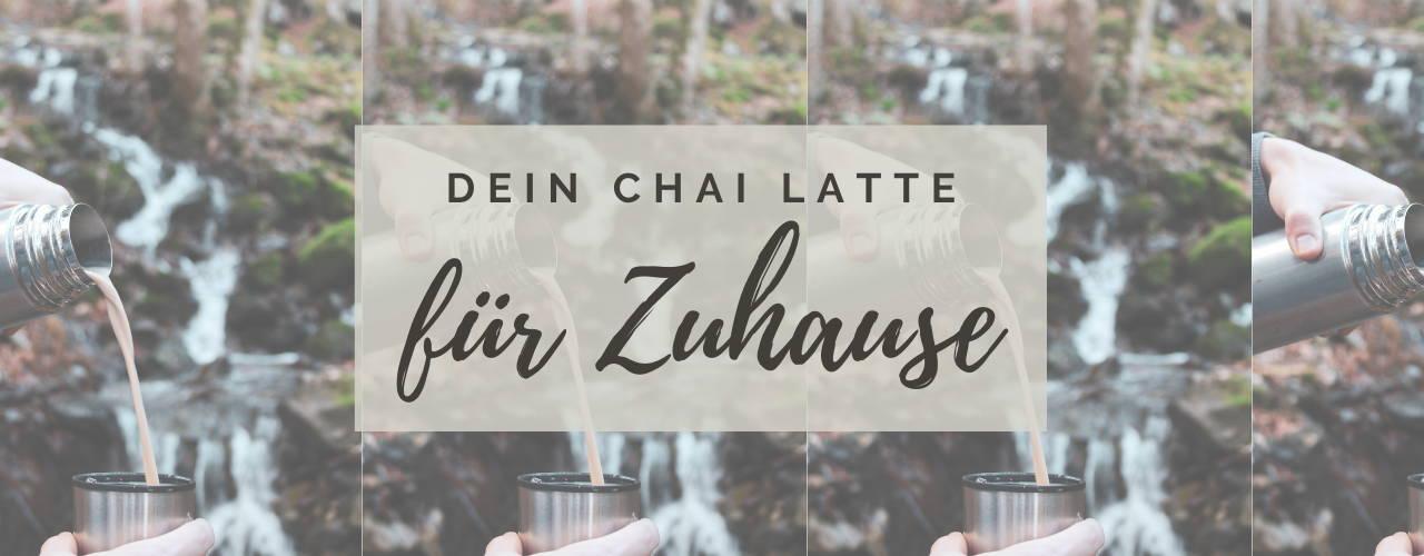 Dein Chai Latte für Zuhause. Masala Chai nach indischem Originalrezept.