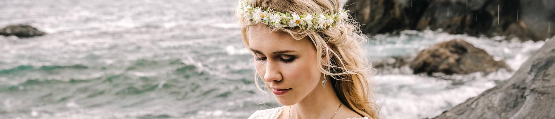 Blumenkranz Haare Haarkranz Fleuriscoeur