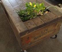 'green' coffee table