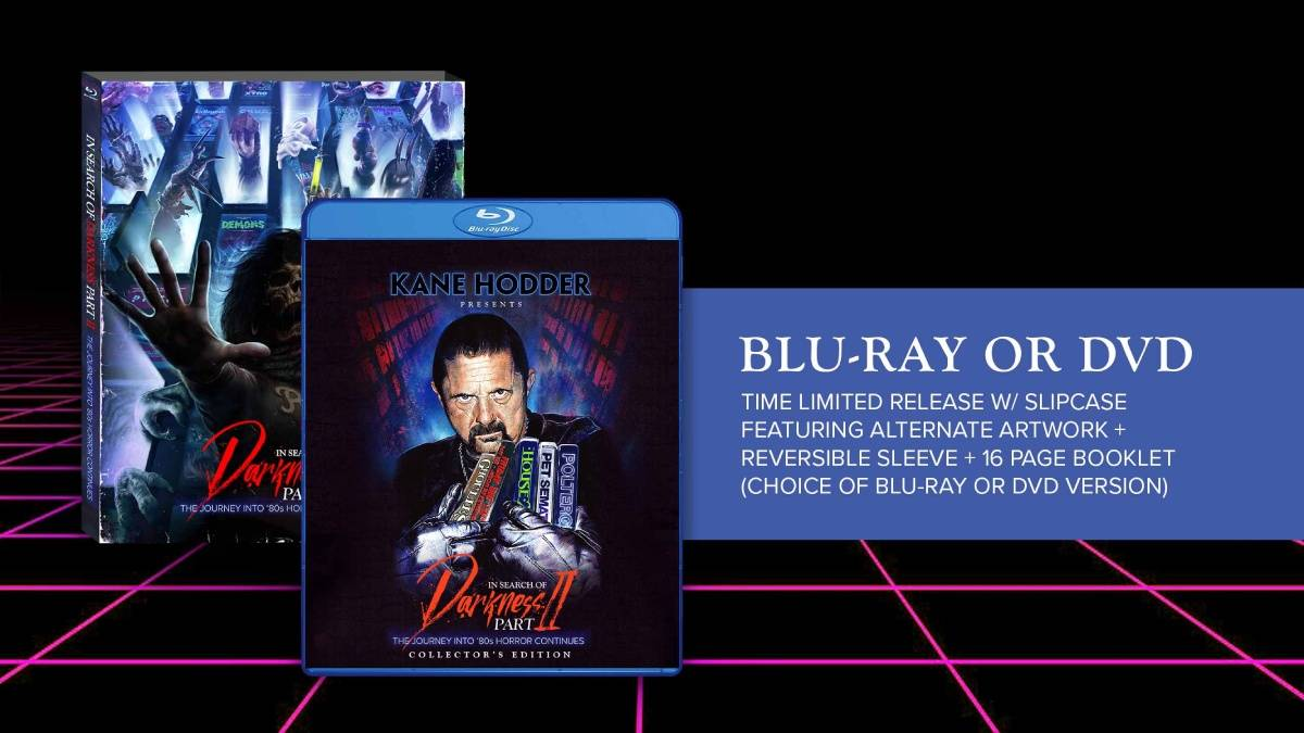 In Search of Darkness Part II, Cinemassacre Collector's Edition blu-ray/dvd package