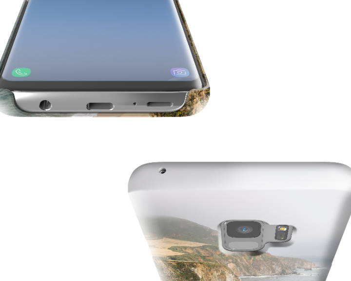 Custom Galaxy S9 Case Slim Top Bottom