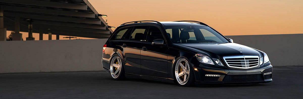 Black Mercedes-Benz Vehicle