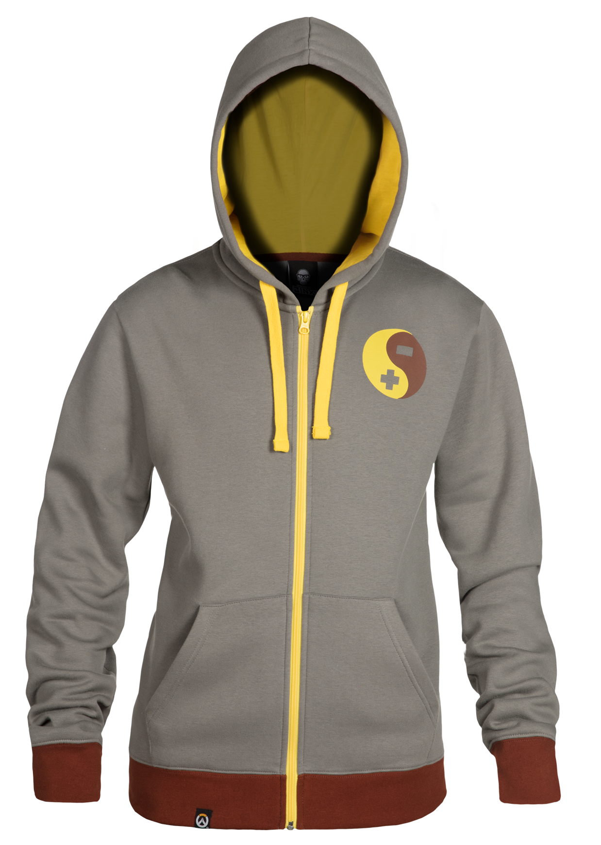 Product image of the Overwatch Ultimate Zenyatta Zip-Up Hoodie