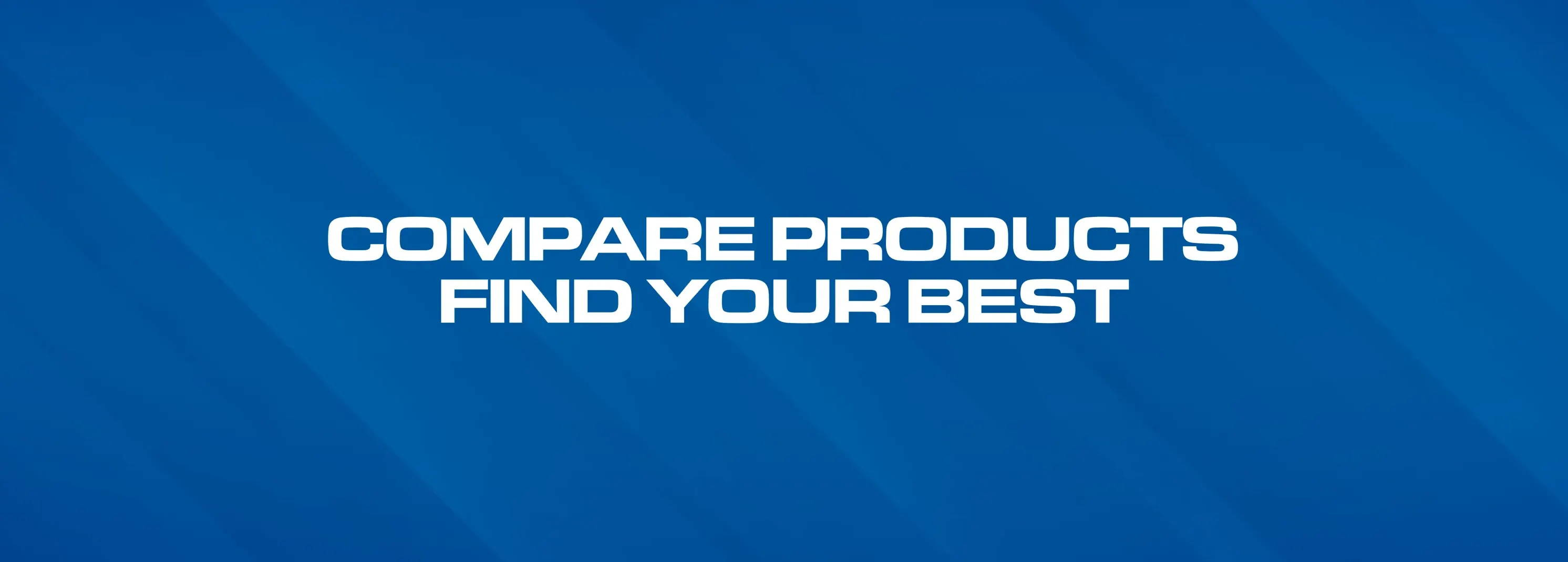find your best & compare supplements