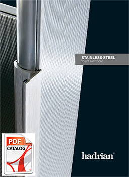 Hadrian Stainless Steel Toilet Partition Catalog