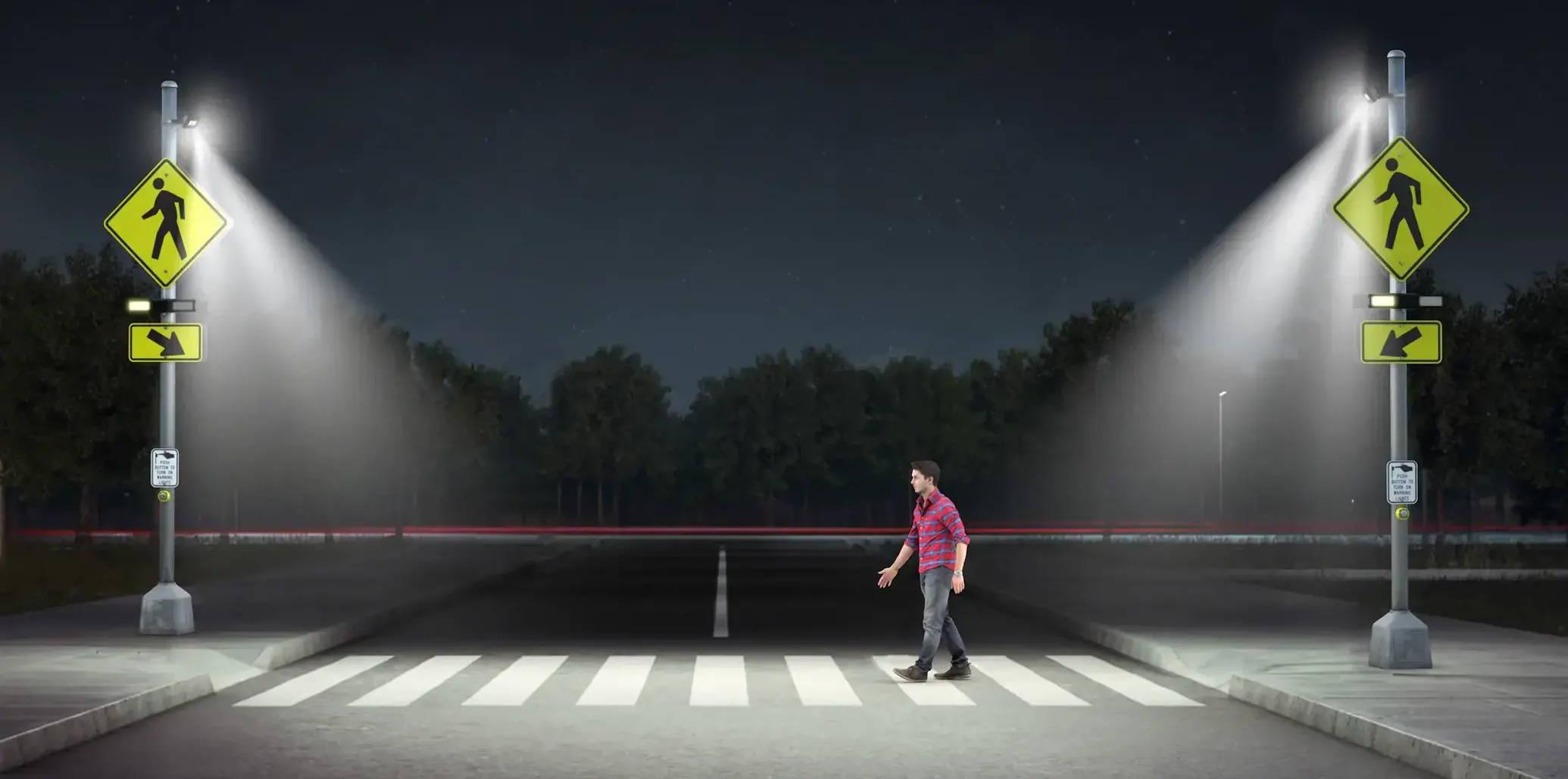 TAPCO Crosswalk Illuminator