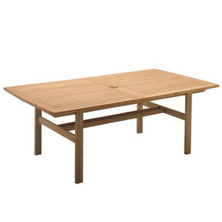 GLOSTER BELMONT LARGE EXTENDING DINING TABLE