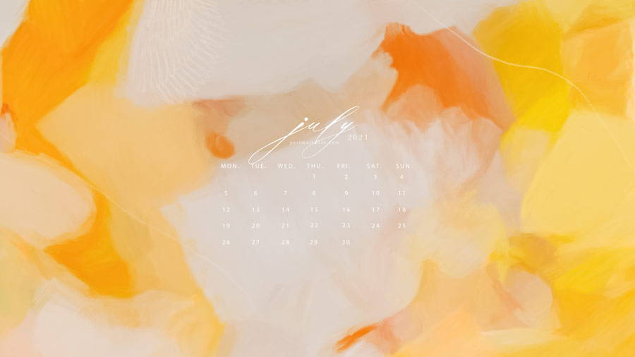 Calendar and wallpaper download by Parima Studio