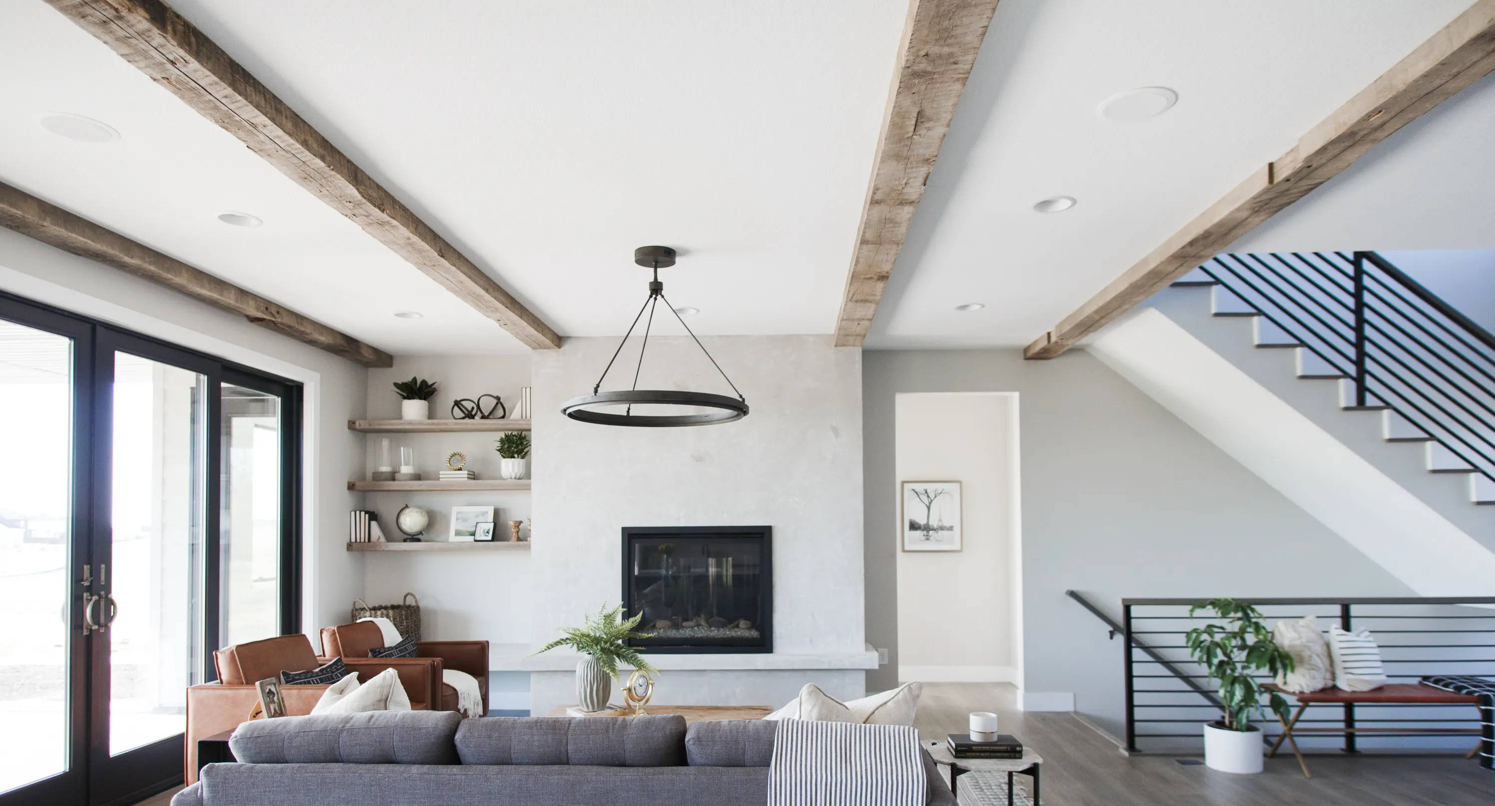 Rustic, Reclaimed Ceiling Beams - Unfinished