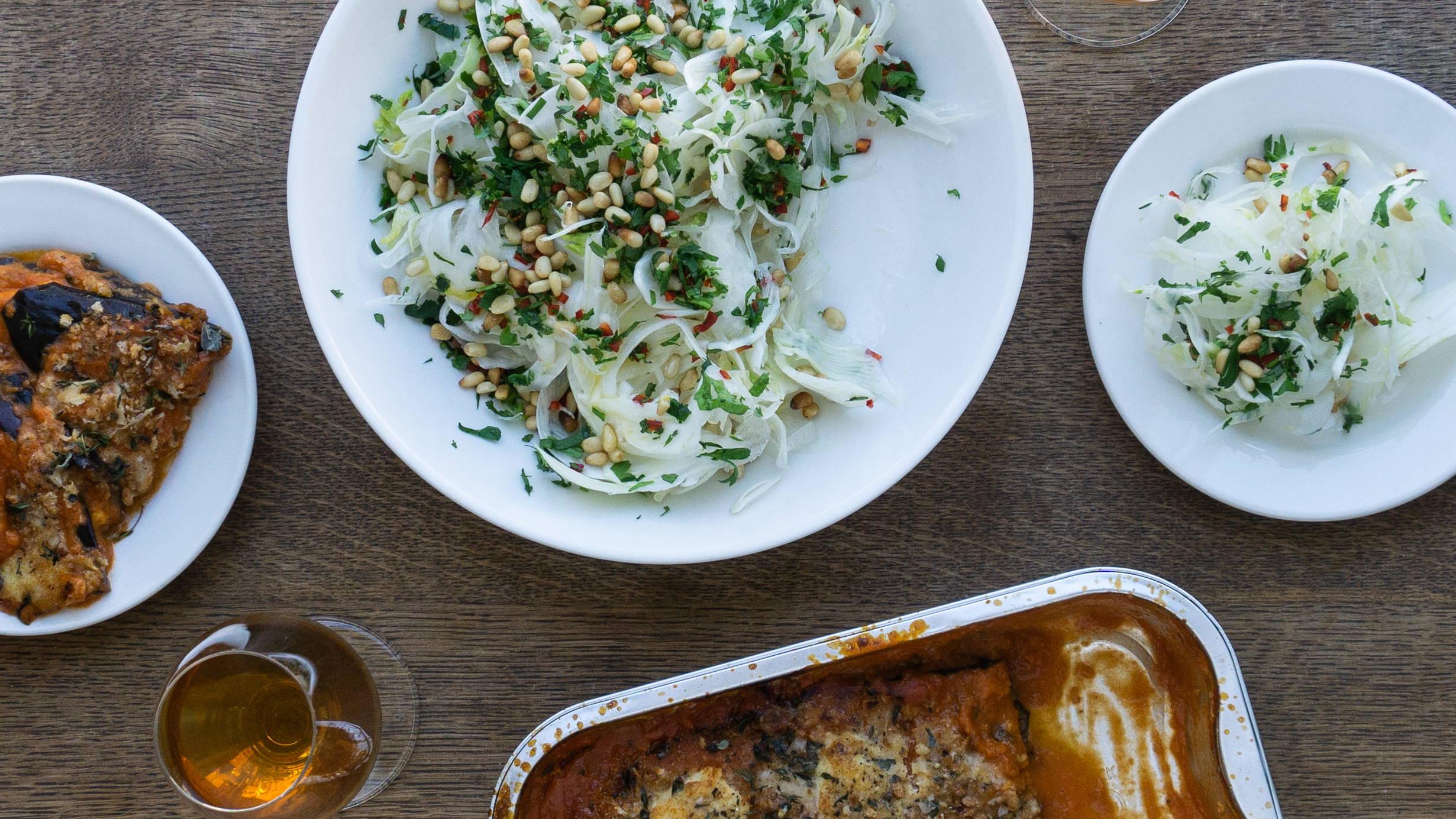 Inspiration til aftensmad og anretning af måltidskasse fra Bar Pasta