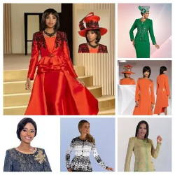 Elegance Fashions | Women Church Suits Holiday Clearance Sale
