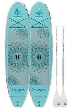 Yoga Mat 2 pack paddle board package