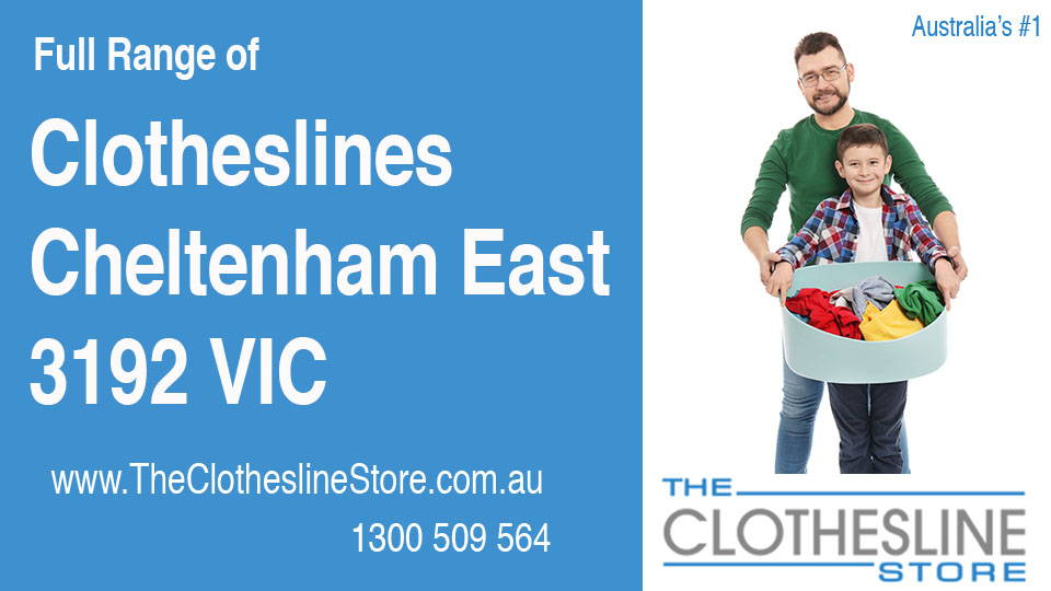 New Clotheslines in Cheltenham East Victoria 3192