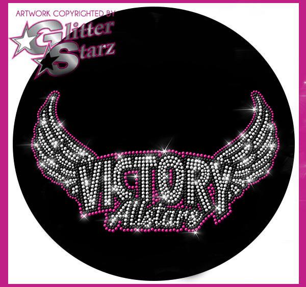 Glitterstarz webstore fundraiser Victory Allstars