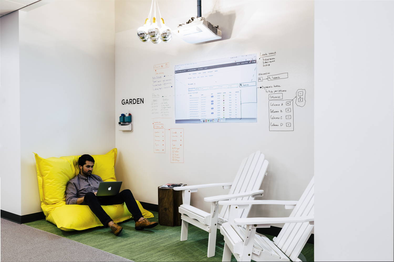 IdeaPaint Dry Erase paint for workplaces. IdeaPaint's solutions help companies create workspaces that foster collaboration, promote creativity, and increase engagement so that your company can increase productivity and bring great ideas to life.