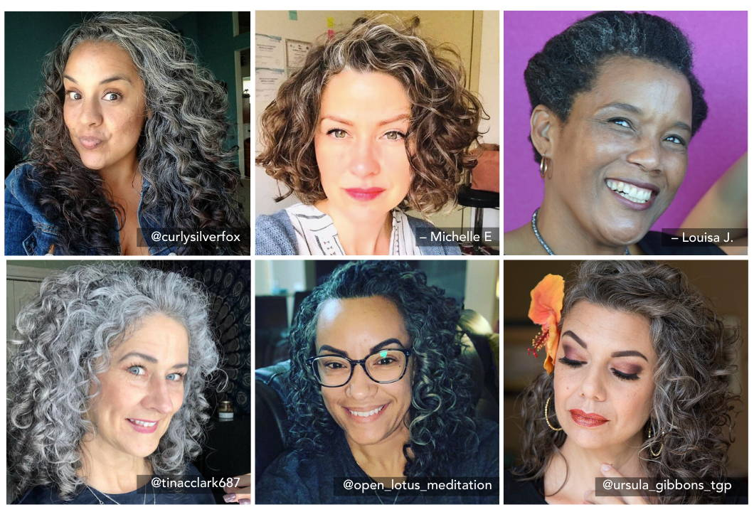 How To Take Care Of Naturally Gray Curly Hair Lus Brands