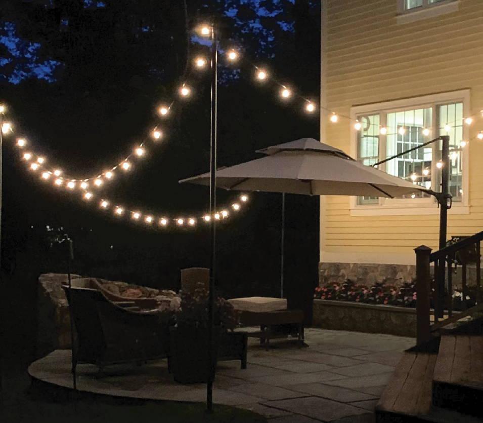 Outdoor Bistro String Lighting Image