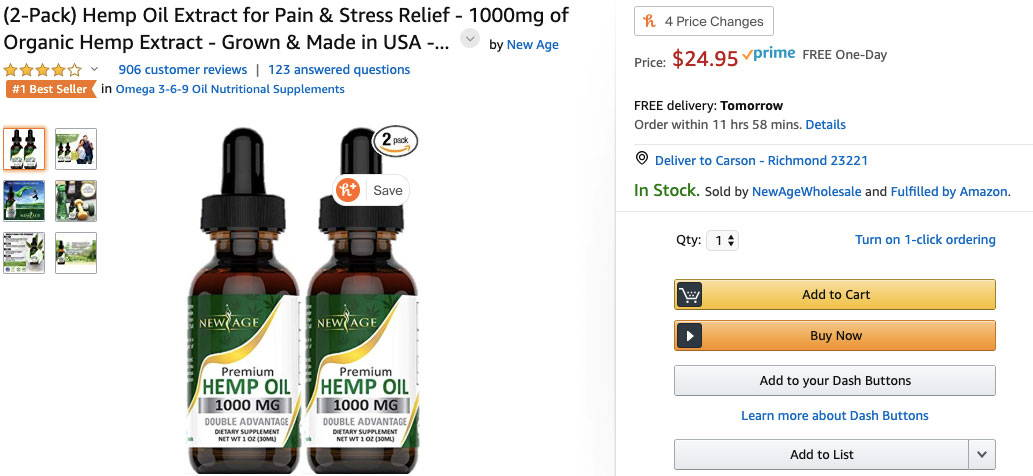 CBD Oil On Amazon? Whole Foods? | Shop Anavii Market