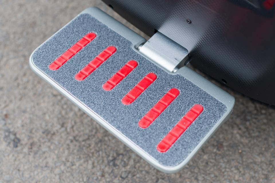 Gotway MSuperX MSX EUC Review pedal down grip footplate