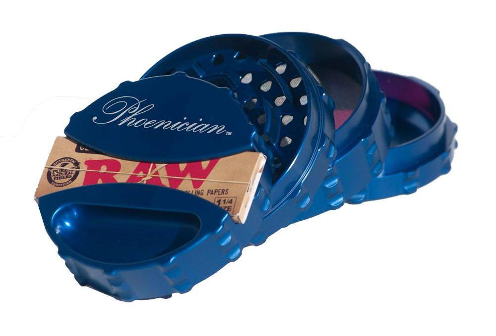 RAW Rolling Papers in Phoenician Grinder