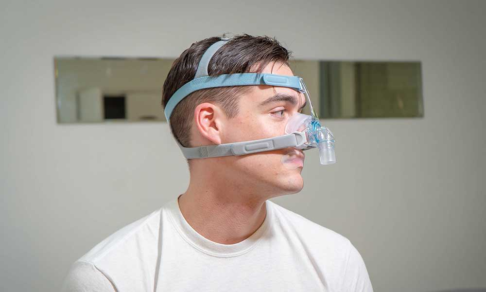 CPAP hack for overcoming mouth breathing - SomniFix