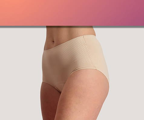 World's First Bladder Leakage Underwear with Verified Performance - Just'nCase by Confitex