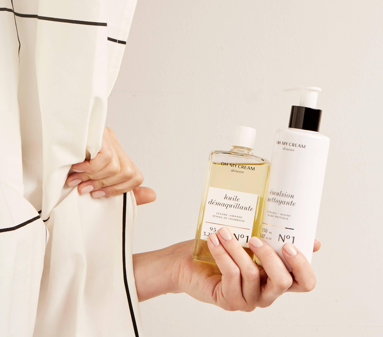 Le double nettoyage Oh My Cream Skincare pour les peaux sèches