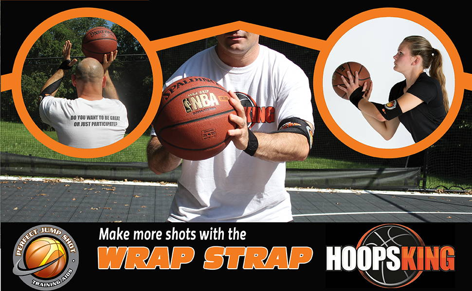Wrap Strap Basketball shooting aid